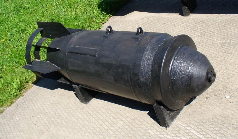 Bomb FAB-500 M54, photo taken by George Chernilevsky in 2008